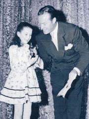 Bob Hope and Margaret O'Brien