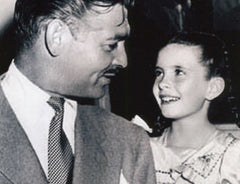 Clark Gable and Margaret O'Brien
