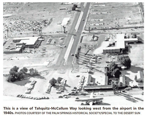 Desert Sun - September 15, 2019 What's in a Coachella Valley street name? Lots of history.