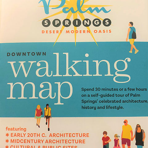 Palm Springs Downtown Walking Map