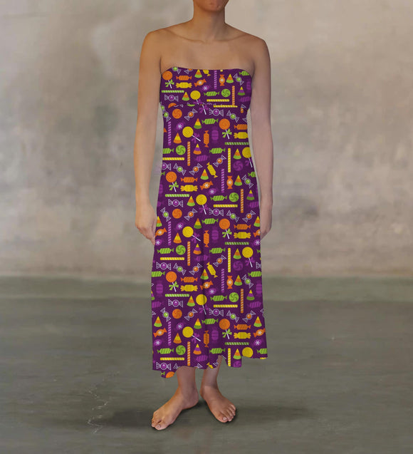 Purple Candy Maxi Skirt