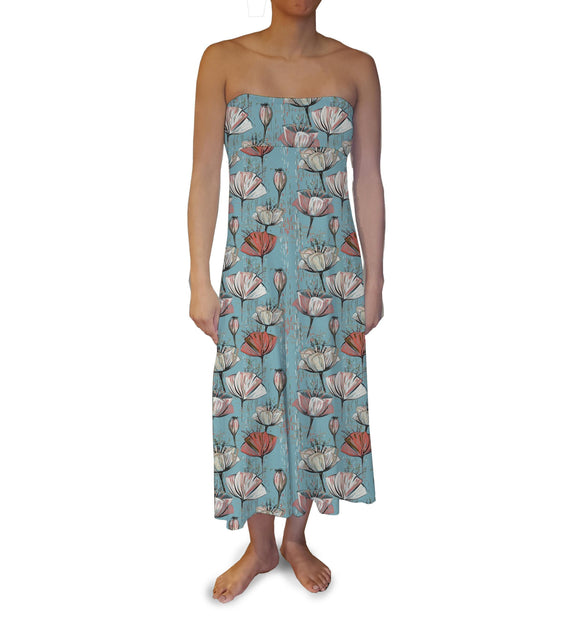 Water Lily Maxi Skirt