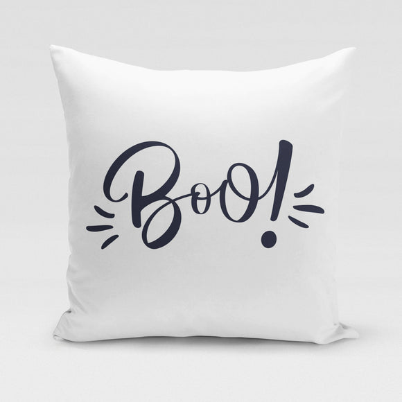 Boo! Pillow Cover
