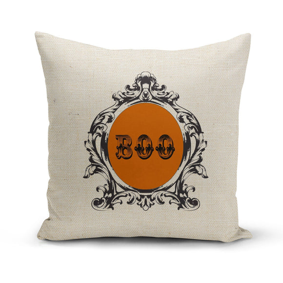 Boo-Fancy Pillow Cover