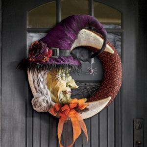 Marvelous Witch Moon Wreath