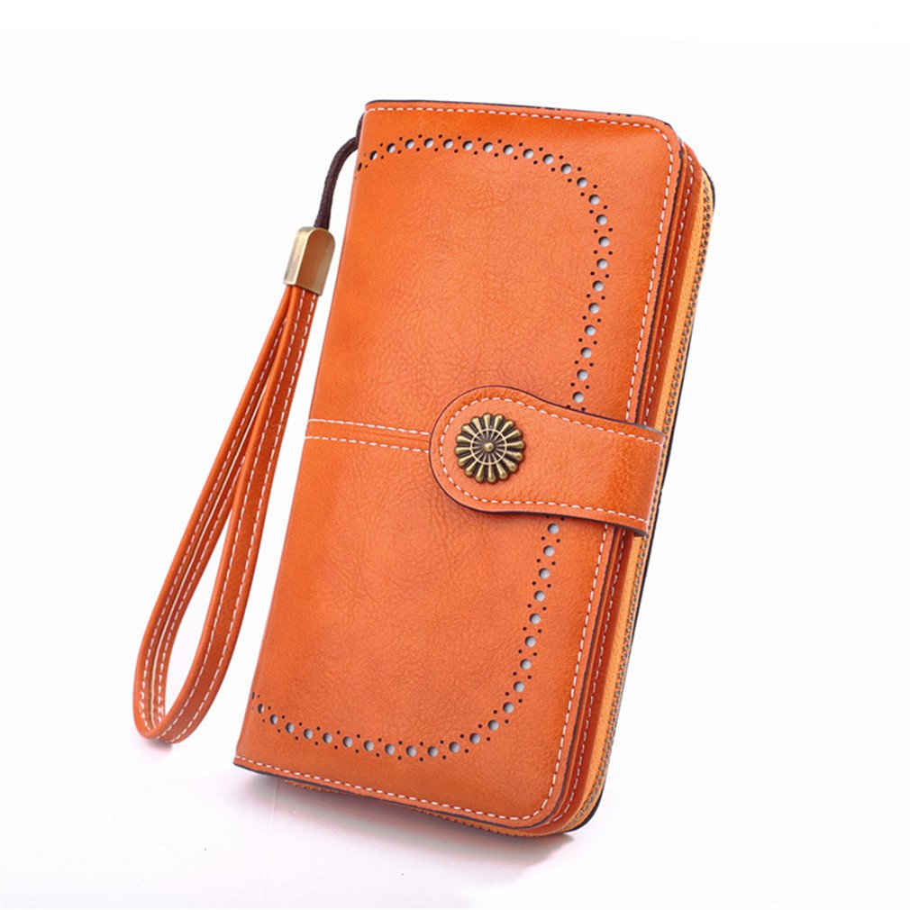 🔥50% OFF TODAY🔥- RFID Luxury Women Leather Wallet