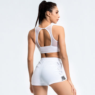 VERXE SUMMER RUBY ACTIVE YOGA SET - WHITE