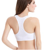VERXE SARA SPORTS BRA - WHITE - The Verxe - A Lifestyle Brand