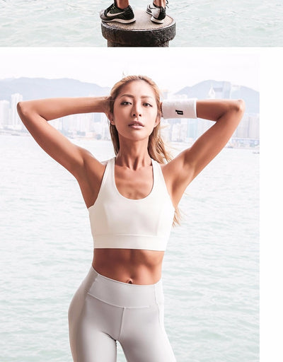 VERXE MILA ACTIVE SPORTS BRA - WHITE - The Verxe - A Lifestyle Brand