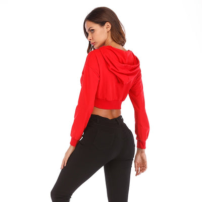 VERXE CHLOE ACTIVE PULLOVERS - RED