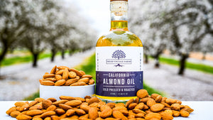 Pure Cold Pressed Almond Oil