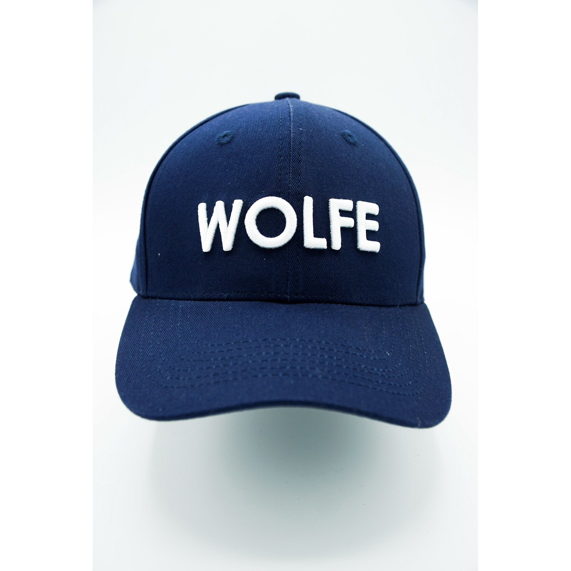 Navy Wolfe Pitcher Cap - myhoody