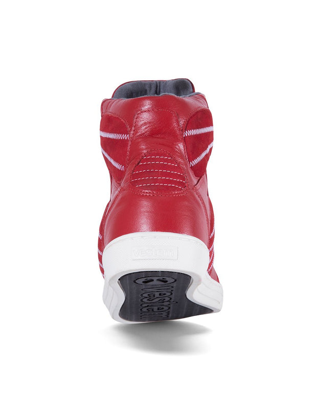 SNEAKERS 04 HIGH TOP RED - myhoody