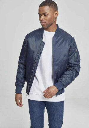 Basic Bomber Jacket - myhoody