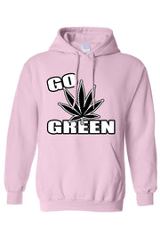 Männer Pullover Hoodie | Go Green Save the Planet - myhoody