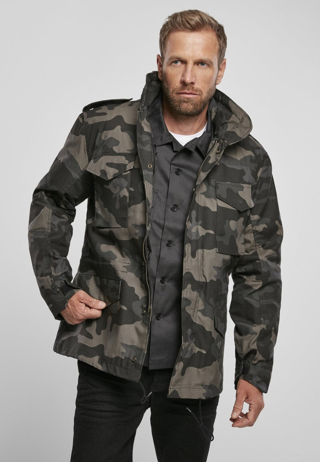 M-65 Classic Field Jacket - Dark Camo - myhoody