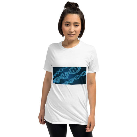 Kurzärmeliges Unisex-T-Shirt - DNA - myhoody