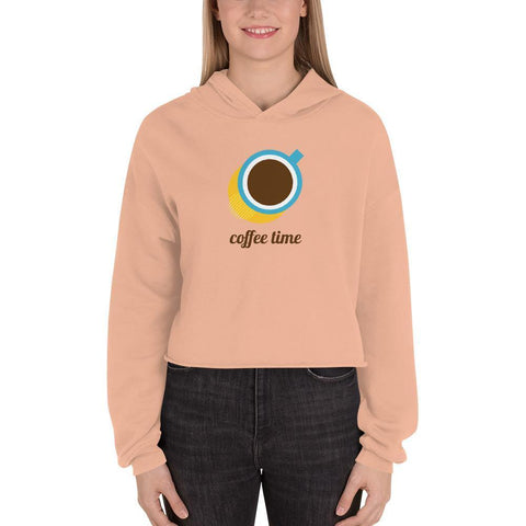 Crop-Pullover - Coffee Time - myhoody