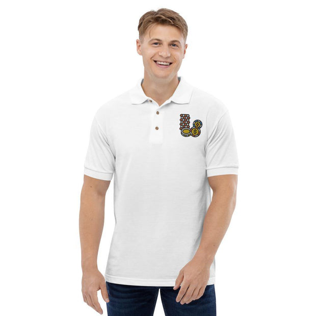 Besticktes Polo-Shirt | Poker - myhoody