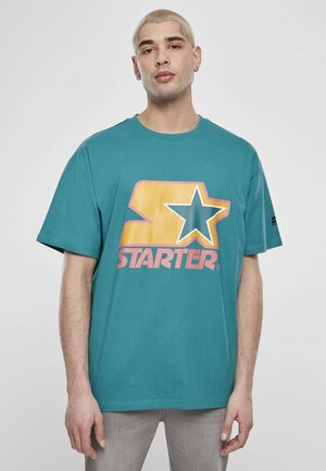 Starter Colored Logo T-Shirt - myhoody