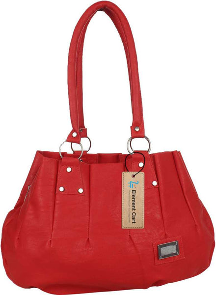 Supastyle Women Red, Maroon Hand-held Bag  (Pack of: 2)