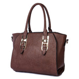 SupaStyle Women's Combo Handbag (Brown)