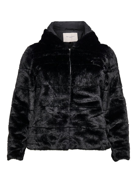 CARCHRIS FUR HOODED JACKET