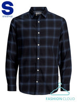 JJEPLAIN CHECK SHIRT L/S AU20 PS