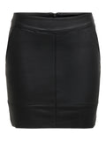 ONLBASE FAUX LEATHER SKIRT