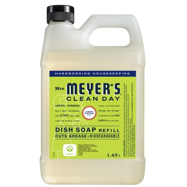 Mrs. Meyer's Clean Day Dish Soap Refill Lemon Verbena 1.4L