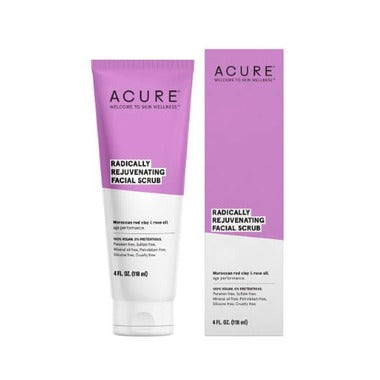 Acure Radically Rejuvenating Facial Scrub  118 mL