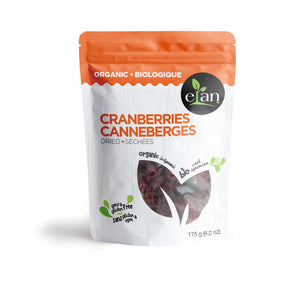 Elan Organic Dried Cranberries