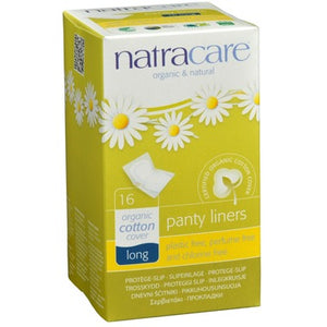 Natracare Panty Liners, Long 16 liners