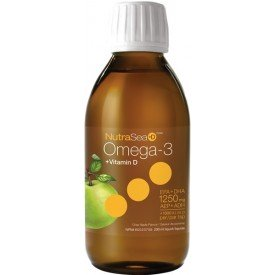 NutraSea+D Omega-3 Crisp Apple 200mL