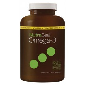 NutraSea Omega-3 Lemon 240 Softgels