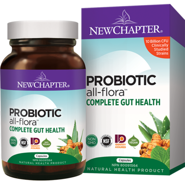 New Chapter Probiotic All-Flora Complete Gut Health