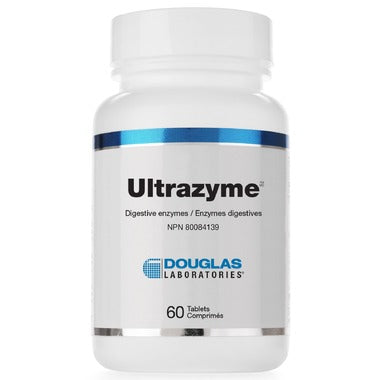 Douglas Laboratories Ultrazyme A Polyphasic Enzyme Complex  60 tabs