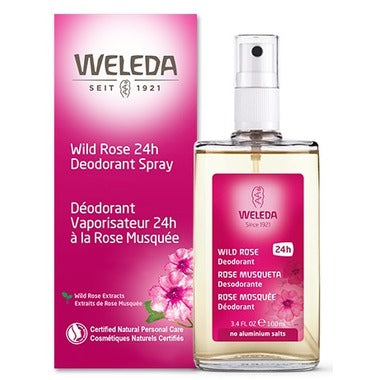 Weleda Wild Rose 24 Hour Deoderant Spray