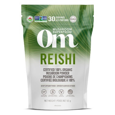 OM Mushroom Reishi Mushroom Superfood Powder