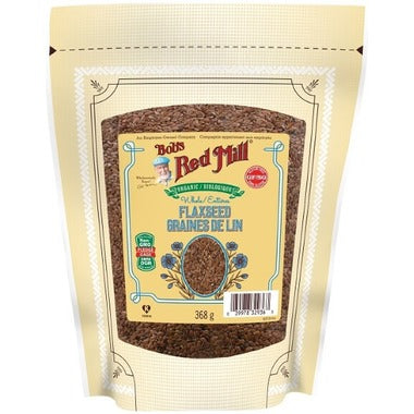 Bob's Red Mill Organic Brown Flaxseed 368g  Whole