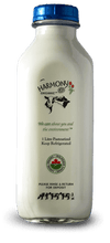 Harmony Organic 2% Milk One Litre Glass Bottle