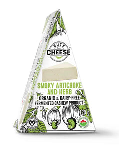 Nuts For Cheese Smoky Artichoke and Herb Cashew Product