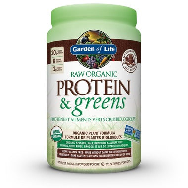 Garden of Life Raw Organic Protein & Greens Chocolate