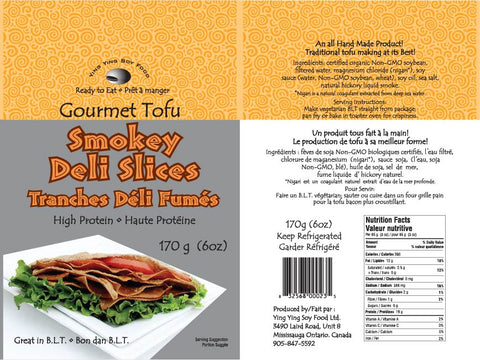 Smokey Tofu Deli Slices