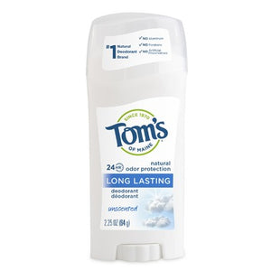Tom's of Maine Long Lasting Deodorant Unscented