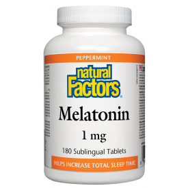 Natural Factors Melatonin 1mg 180 Tablets