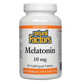 Natural Factors Melatonin 10mg 90 Tablets