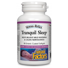 Natural Factors Stress-Relax® Tranquil Sleep 90 Softgels