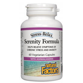 Natural Factors Stress-Relax® Serenity Formula® 60 Veggie Caps