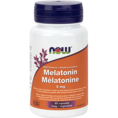 NOW Foods Melatonin Veg Capsules